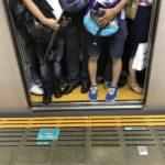 通勤電車のイライラ軽減の実践