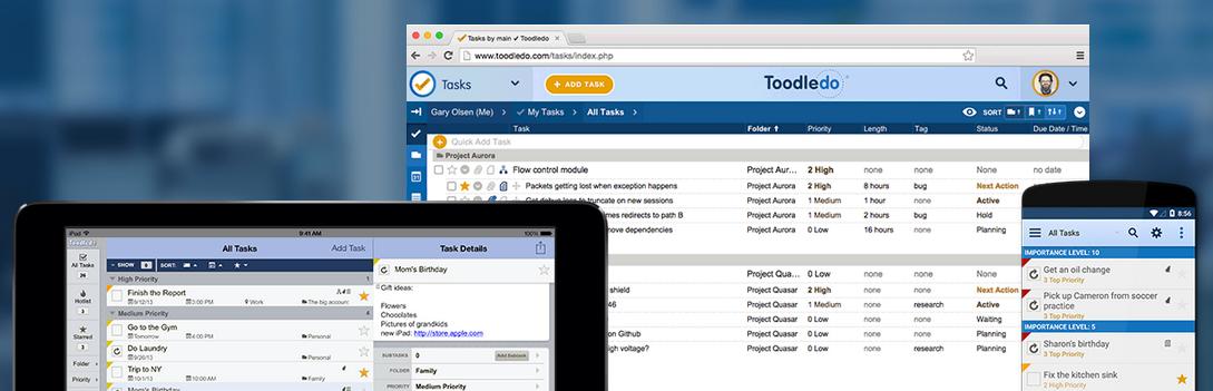マルチタスクの効率化でたどり着いたToDoサービス ー Toodledo
